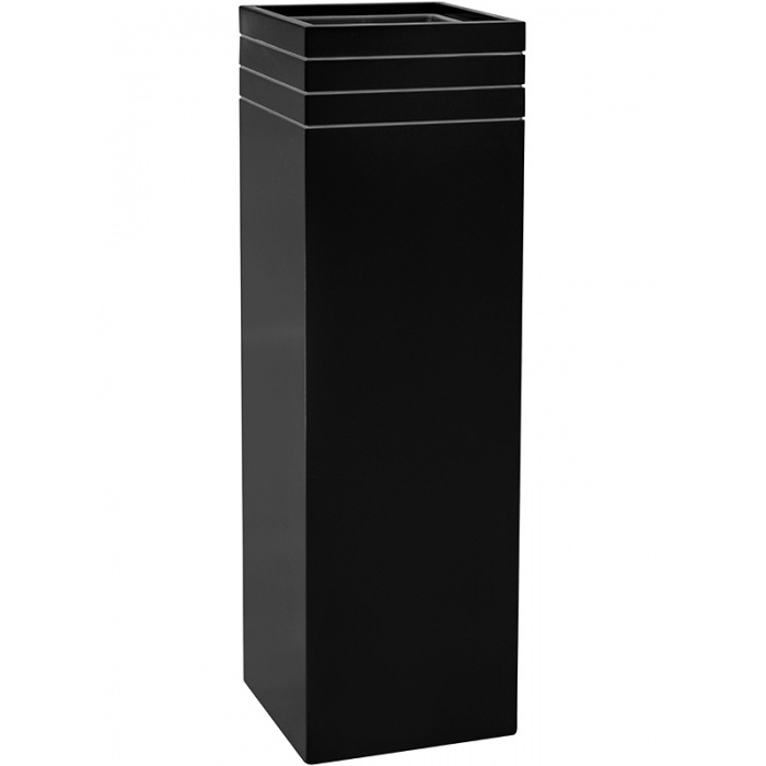 line-up_tall_planter_matt_black30x30x100_784029433