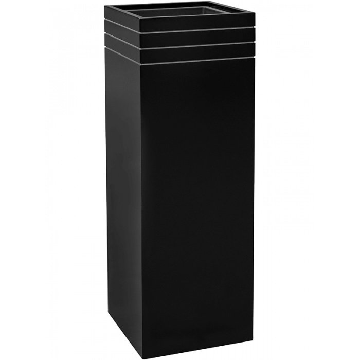 line-up_tall_planter_matt_black34x34x100_439142406